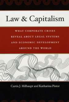 Cover for Law and Capitalism
