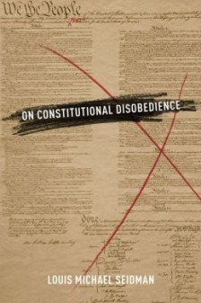 Cover for On Constitutional Disobedience