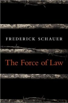 Cover for The Force of Law